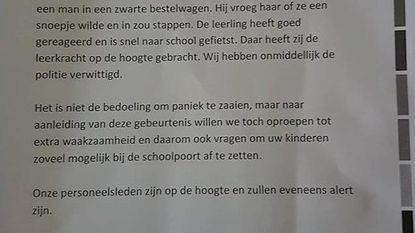 """Scholen: """"Pas op voor kinderlokker"""""""