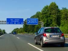 Mag je in Duitsland wél in het midden blijven rijden?