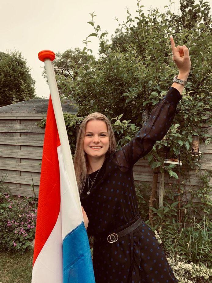 Anoek Voortman (18) heeft een havo-diploma van Het Vlier binnen. Ze gaat logopedie studeren bij Windesheim in Zwolle.