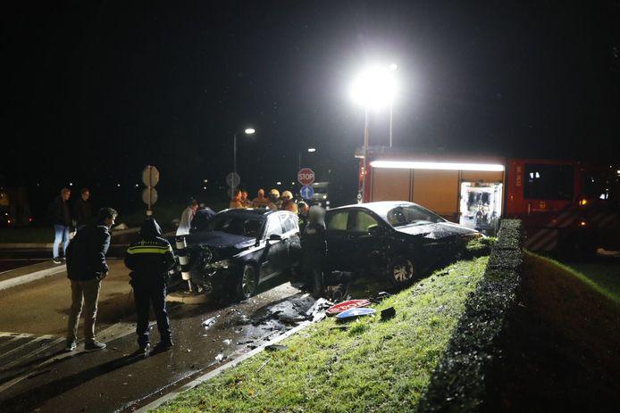 Het ongeluk vond plaats in Epe.
