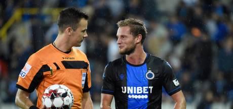 """Le Département Arbitrage l'avoue: """"Bruges aurait dû obtenir un penalty et Clément un rouge"""""""