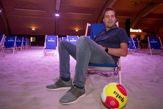 Beachvolleybal Veldhoven initatiefnemer Rutger Smak Gregoor