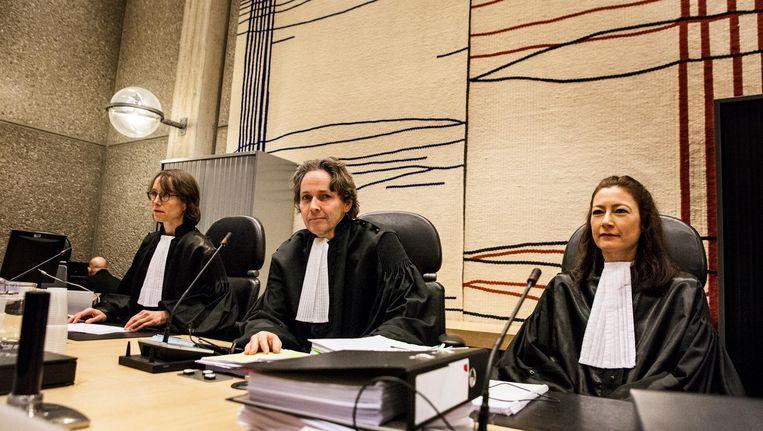 De rechtbank in Amsterdam hoorde maandag de 'pleitnota' van Van der G., die niet terug de cel in wil. Beeld null