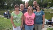 Vissersclub 't Goudvisje verzamelt 2.800 euro met benefiet voor baby Aily