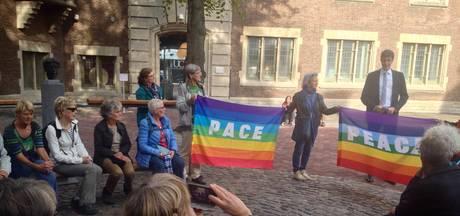 Eerste vredeswandeling door Middelburg