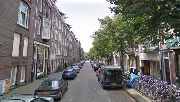 Onder meer in de Pieter Aertszstraat in De Pijp worden huurders bedreigd met uitzetting. Foto Google Streetview Beeld