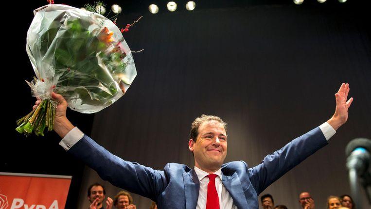 Lodewijk Asscher is de nieuwe fractieleider van de PvdA. Beeld anp