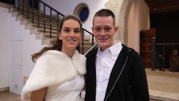 Roy Dewulf (40) en Janina Vancoillie (29).