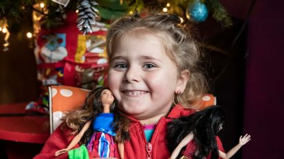 Kerstman trekt op uw aangeven vervroegd naar Cor (4) in Sint-Truiden: meisje beleeft nu al onvergetelijke kerst