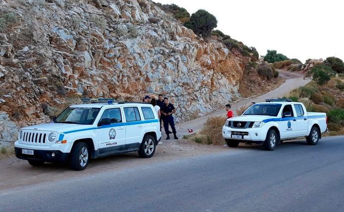 Politie op Cyprus. Foto ter illustratie.