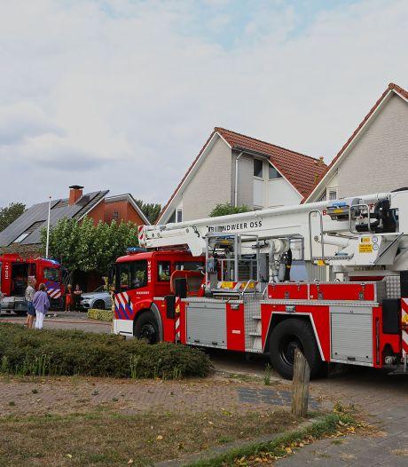 Brand zorgt voor schade aan hoekwoning in Oss
