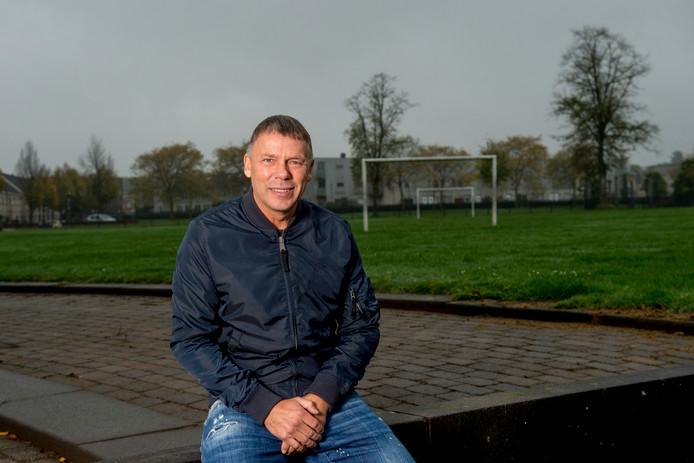 Frank Berghuis, oud speler van oa PSV en Volendam.