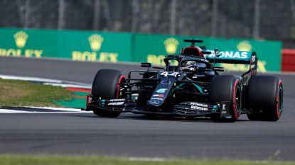 Hamilton is in eigen land de snelste tijdens derde vrije oefenritten