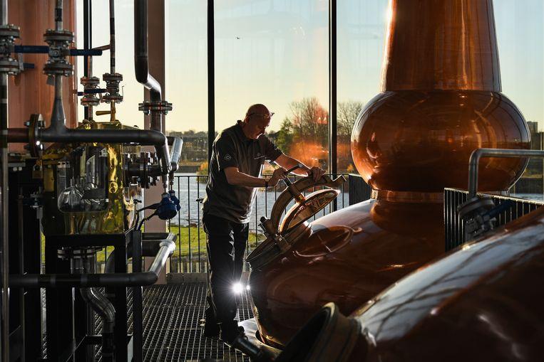 Schotse whiskyproducenten worden ook getroffen door de Amerikaanse importtarieven. Beeld Getty Images