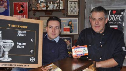 Bierrestaurant 't Molenhof is Ambassadeur Orval 2019