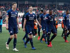 Teleurgestelde PSV'er Nick Viergever na remise in Emmen: 'Heel zuur dat je zo punten verspeelt'