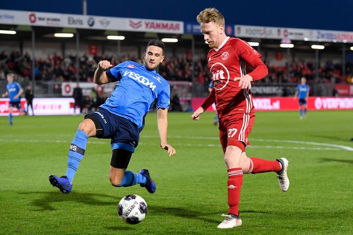 Dylan de Braal tekent bij FC Dordrecht een contract voor twee seizoenen.