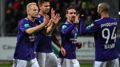 Anderlecht verspilt kostbare energie tegen Eupen, maar wint wel
