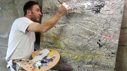 Cultuurschepen Tom Struys maakt kunstwerk voor het goede doel