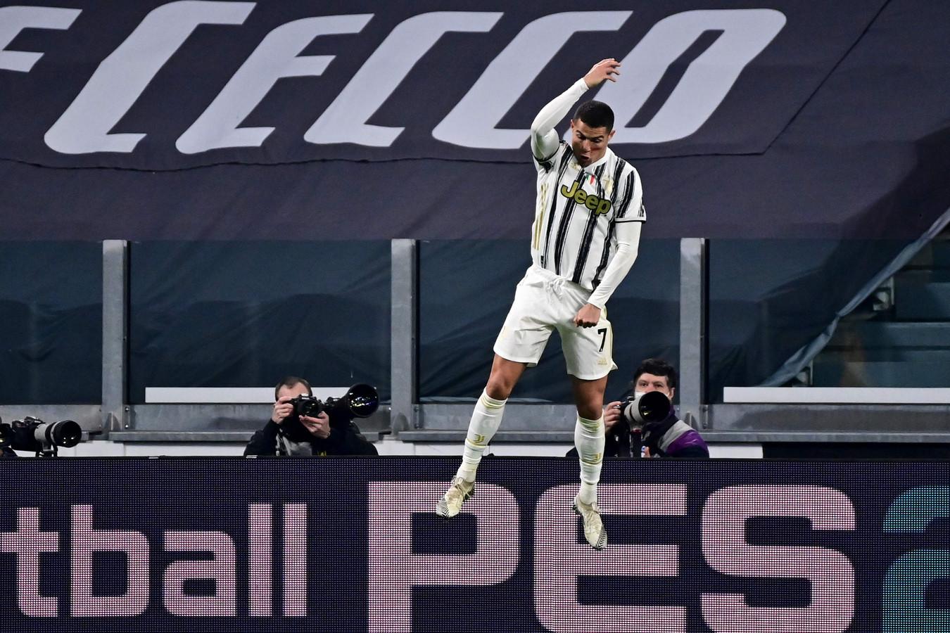 Cristiano Ronaldo a encore porté la Juve contre Cagliari.