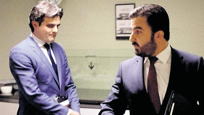 Tunahan Kuzu (l) en Selçuk Öztürk verlaten na een heftig fractieberaad de gelederen van de PvdA.