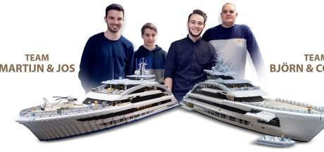 De Cosmos, megajacht van Heesen Yachts, nu al in lego