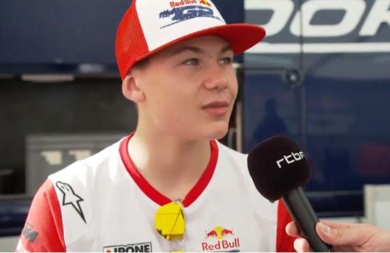 Barry Baltus vorig jaar in het Spaanse Jerez.