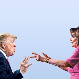 Alles komt weer tot stilstand in de VS na felle clash Trump en Pelosi