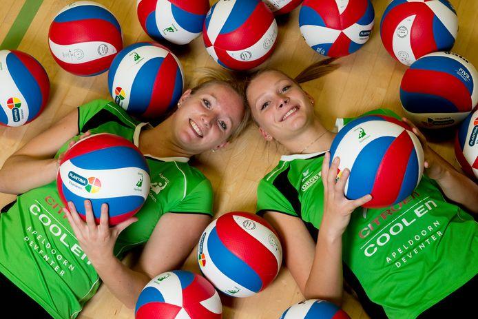Linda te Molder en Kirsten Wessels (r); routinier en jonkie van Alterno.