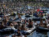 Une fête géante le long d'un canal et devant un hôpital à Berlin fait jaser