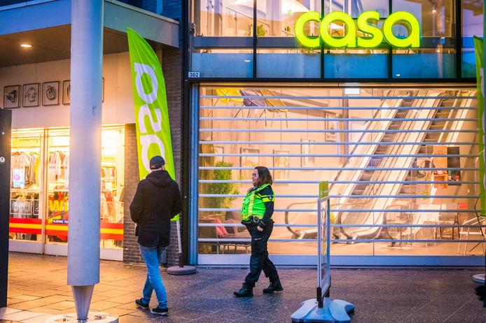 Overval bij Casa in winkelcentrum Eindhoven