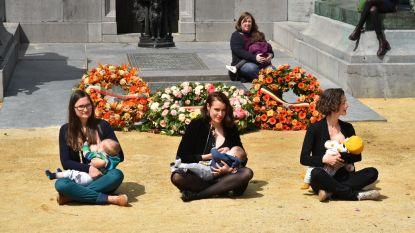 Borstvoedende moeders vragen gezonde toekomst van hun baby's