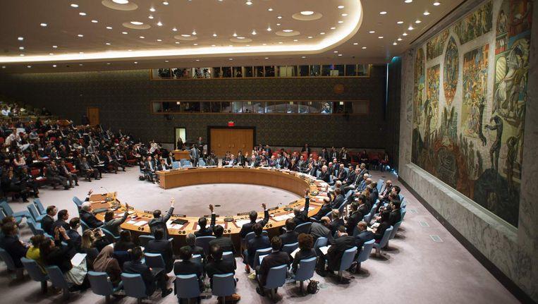 De VN-Veiligheidsraad in New York. Beeld afp