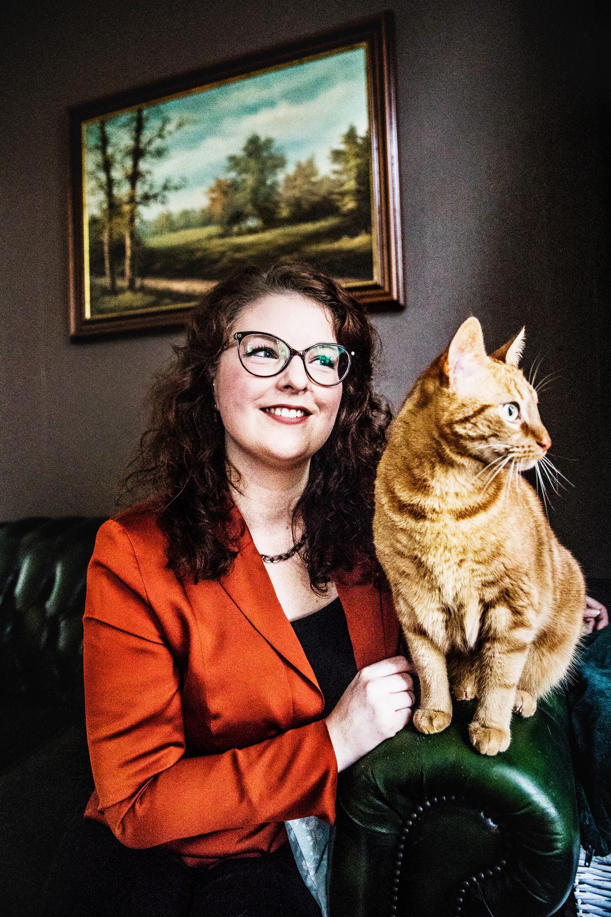 Janneke Vink.  Beeld Aurélie Geurts