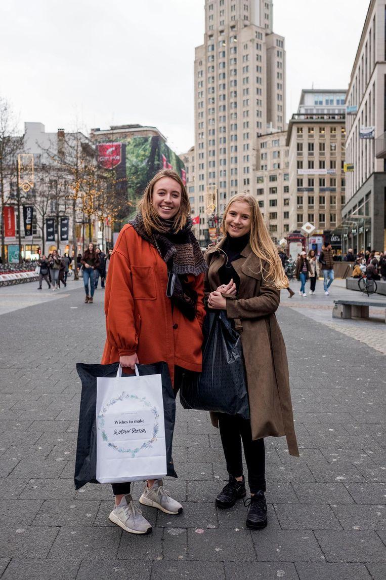 Britt Van Eerdewegh en Charlotte Van Raemdonck.