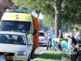 Motorrijder gewond bij ongeluk in De Moer, traumahelikopter geland