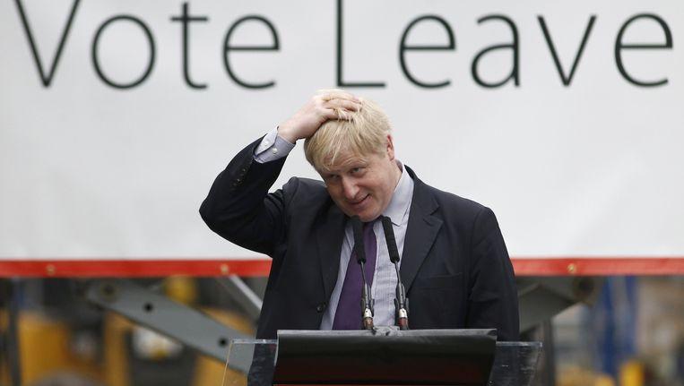 Boris Johnson. Beeld reuters