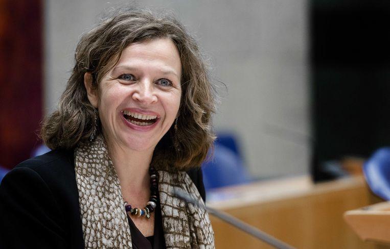 Minister Schippers ligt niet wakker van PvdA-motie 74. Beeld anp