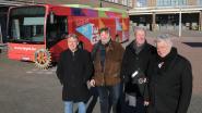 Rotary Diest sponsort infomobiel van Te Gek!?