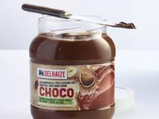 Pâte à tartiner certifiée sans huile de palme chez Delhaize