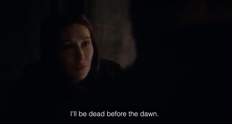 Melissandre lost een gigantische spoiler aan het begin van de aflevering...