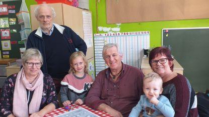 175 grootouders opnieuw achter de schoolbanken in basisschool 't Park
