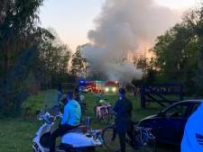 Brandweer rukt uit voor illegaal paasvuur in Nijverdal