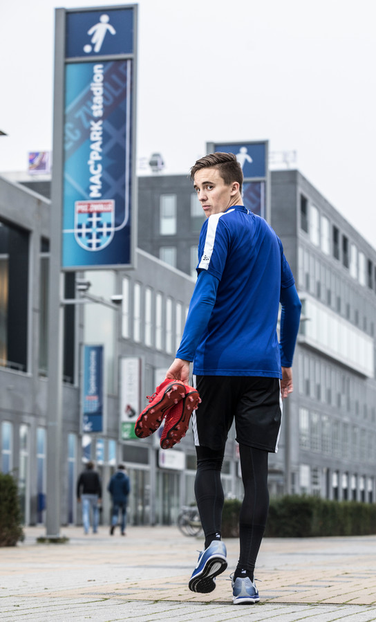 Ryan Thomas verlaat PEC Zwolle voor PSV: 'Ik heb tegen mijn zaakwaarnemer gezegd dat alleen moet bellen als ik ergens moet tekenen.'