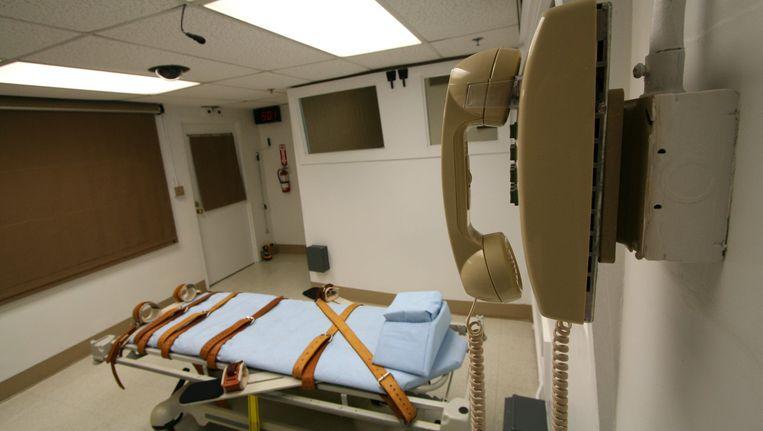 Een executiekamer in de staatsgevangenis van Florida.