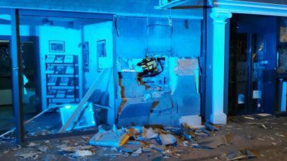 Plofkraak op Argenta-bank in Wezet
