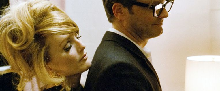 Julianne Moore en Colin Firth in A Single Man. Beeld The Weinstein Company