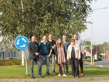 Studenten aan de slag met eerste geadopteerde rotondes in Almelo