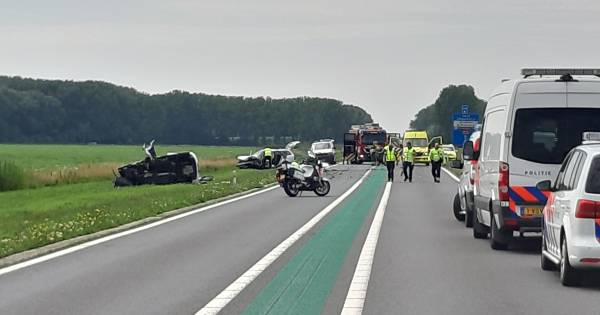 Slachtoffer frontale botsing Maas en Waalweg reed op verkeerde weghelft.