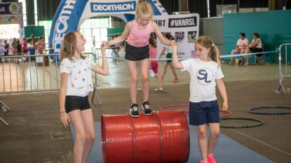 1.500 kinderen proeven van sportaanbod